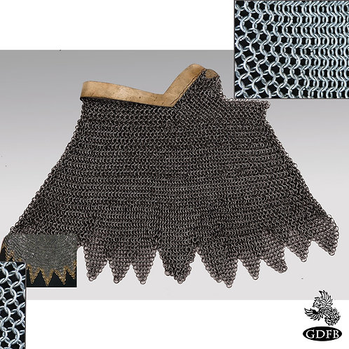 Aventail Bronze Edge - Dagged - Chainmail - Infantry Grade - Code b - AB2635