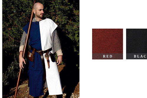 Squire's Tunic - Red / Black - GB4041
