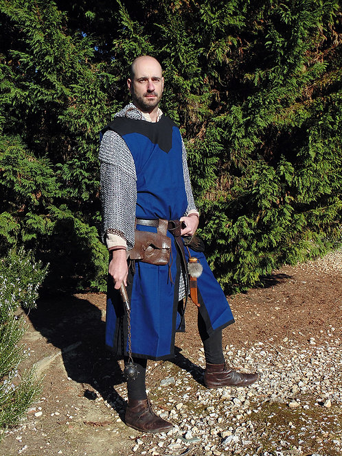 Medieval Tabard - Cotton - Blue - GB4035