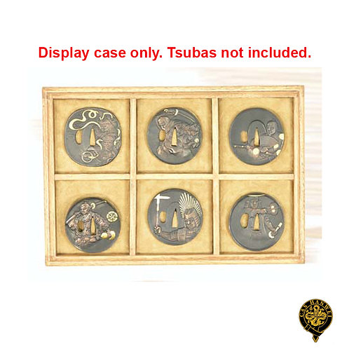 Display case for 6 Tsuba (Tsuba NOT Included) - OH2133