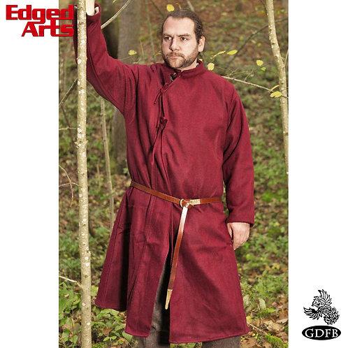 Mans Coat 10th Century - Wool - Maroon