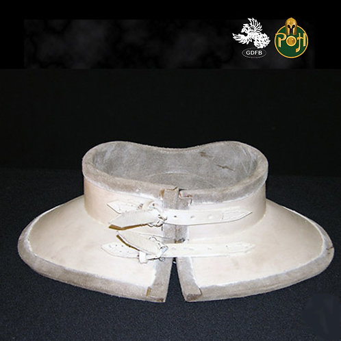 Gorget - Leather 15th C - AB0093