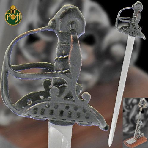 English Mortuary Hilt - Mini Sword - MH2306
