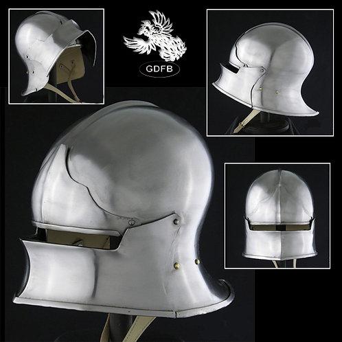 Jaw Bone Visor Helmet - 14 g - AB0452