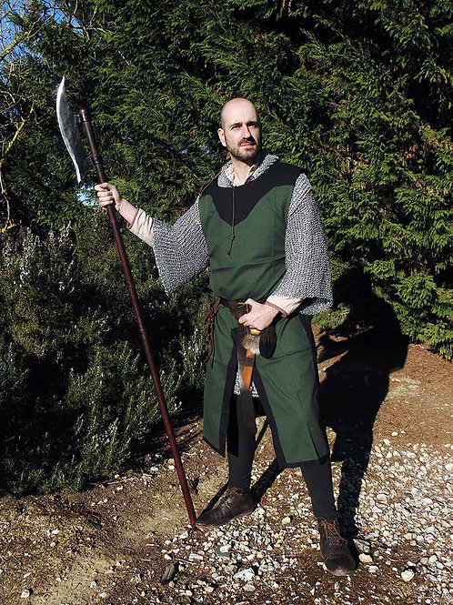 Medieval Tabard - Cotton - Green - GB4030