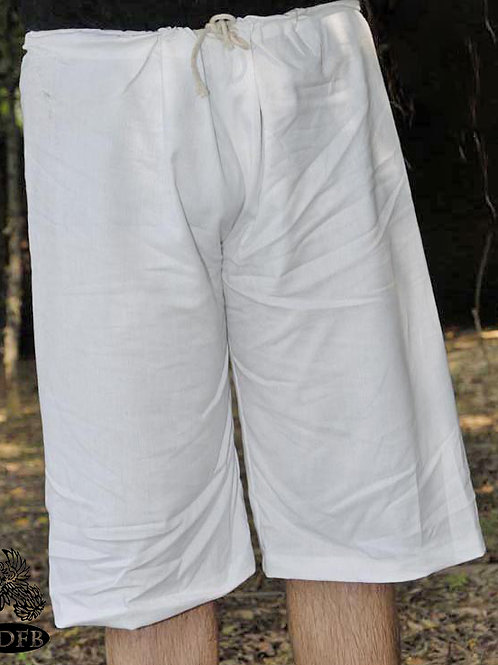 Medieval Cotton Shorts (Braies) to go with Separate Hose - G2963