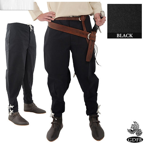 Button Front - Tapered Ankle Trouser - Cotton - (GB3821 - GB3843)