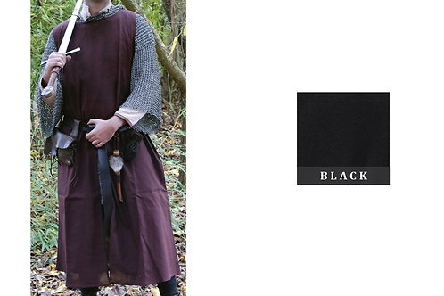 Medieval Surcoat - Black - GB4148