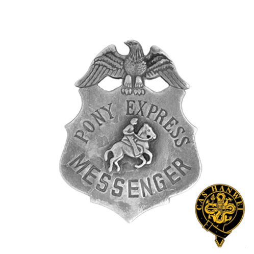 Pony Express Badge - OH3012