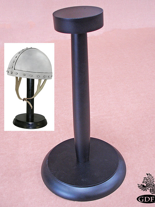 Helmet Stand - Wooden - OB3064