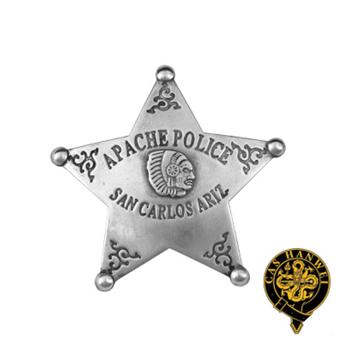 Apache Police Badge - OH3027