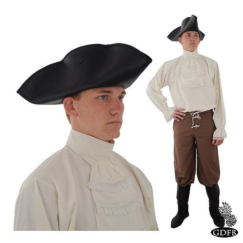 Tricorn - Pirates Hat - Leather - GB3956)