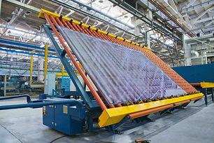 Conveyor belt for a window pane.jpg