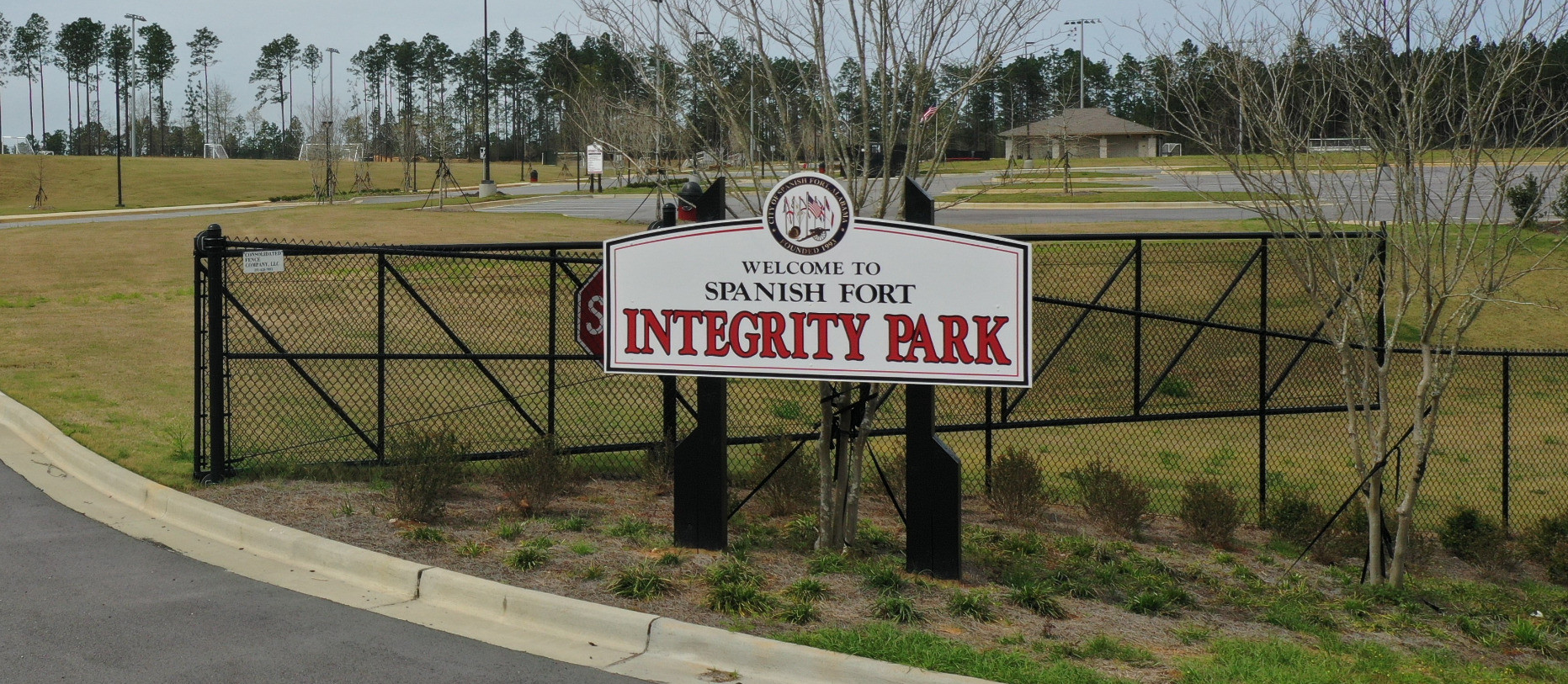 intergrity park signage