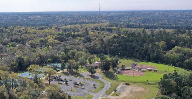 aerial photo of spirit park