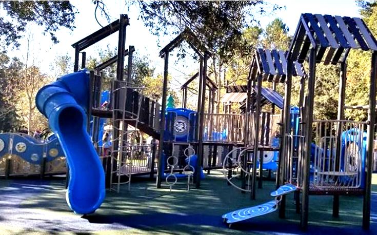 full view of kid's park