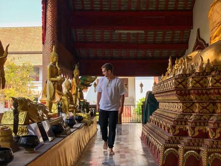 Jak to chodí v thajských chrámech