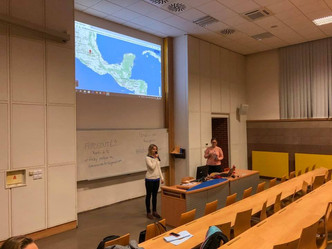 První přednáška akademického roku 2018/2019 o Mexiku