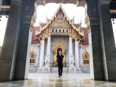 Wat Benchamabophit - chrám z mramoru