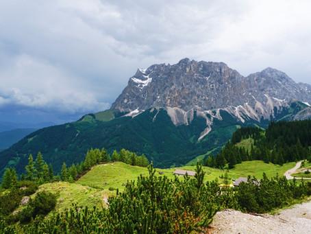 V srdci bouře u nejvyšší hory Německa