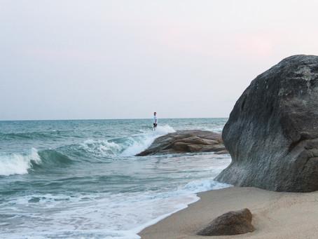 Skútrem po ostrově KOH SAMUI v Thajsku