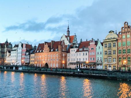 Gdańsk - město u Baltu