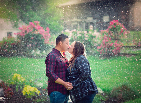 Samantha & Juan - Engagement session