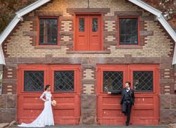 Trash the dress bride and groom...