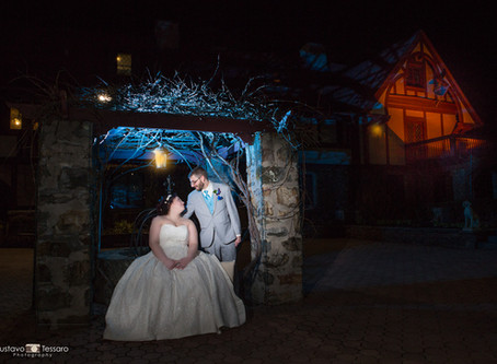 AnnaMaria & Tony - Wedding Day at St. Clements Castle - Portland CT