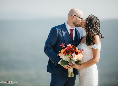 Cynthia & Byron - Bear Mountain Inn Wedding day
