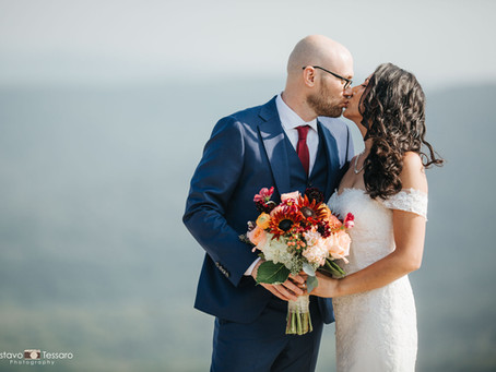 Cynthia & Byron - Bear Mountain Inn Wedding day