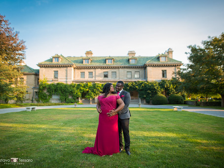 Camylle & Boateng - Engagement session at Harkness park