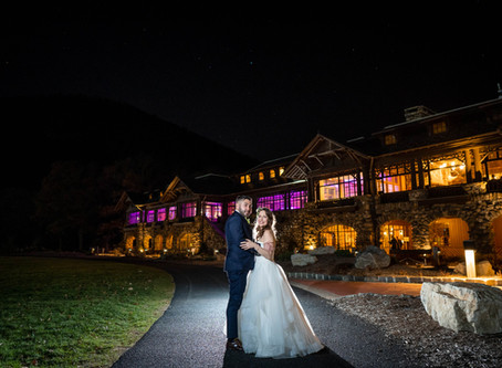 Angela & Chris - Bear Mountain Inn