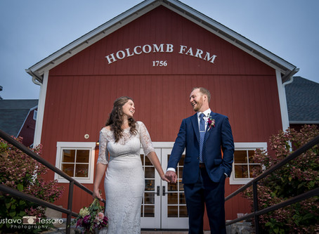 Samantha & Jon - Holcomb Farm Wedding day