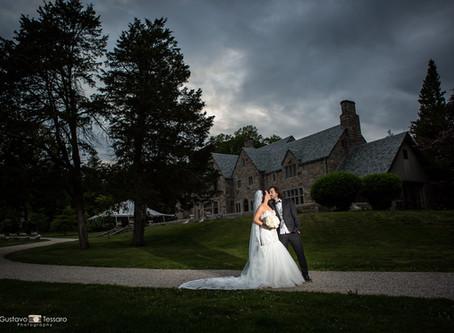 Leslie & Ben - Gallaher Mansion Wedding day - Norwalk CT