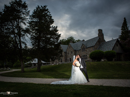 Leslie & Ben - Gallaher Mansion Wedding day - Norwalk CT