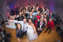 Wedding couple selfi