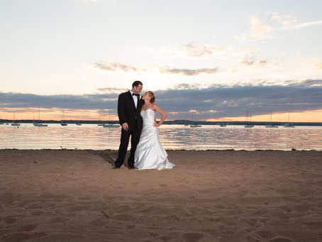 Christina & Zack - Anthony's Ocean View - New Haven