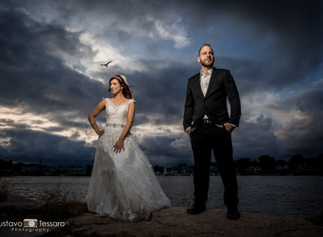 Ana Clara & Michael - Bill Millers Castle & Gulf Beach