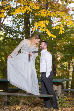 Trash the dress newlyweds embracing