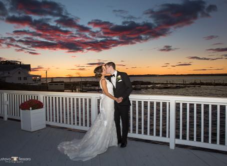 Elena & Ian - Wedding at Amarante's Sea Cliff, New Haven, CT