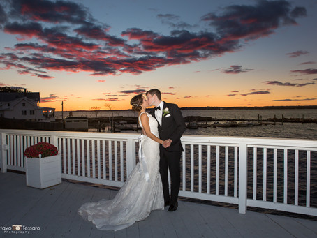Elena & Ian - Wedding at Amarante's Sea Cliff, New Haven, CT