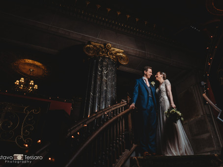Brittany & Tommy - The Society Room - Hartford CT