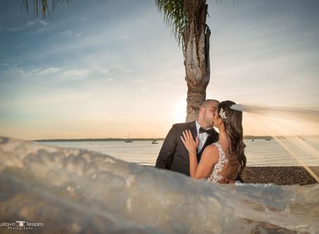 Sara & Tim - Wedding Day at Anthony's Ocean View - CT