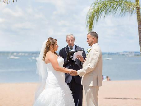 Neyfe & Ben - Wedding at Anthony's Ocean View - New haven