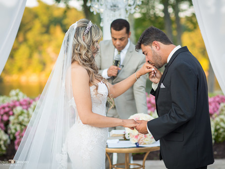 Fran & Andre - The Waterview's wedding day
