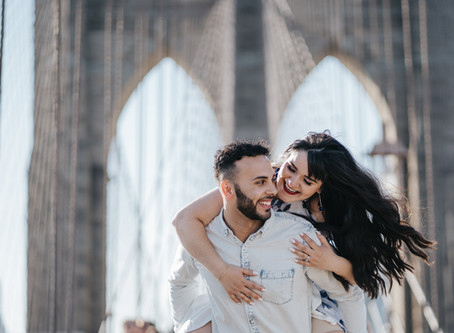 Nicole & Douglas - Brooklyn Bridge - NYC