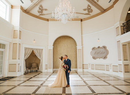 Emanuela & Jp's Wedding day - Aria Prospect - CT