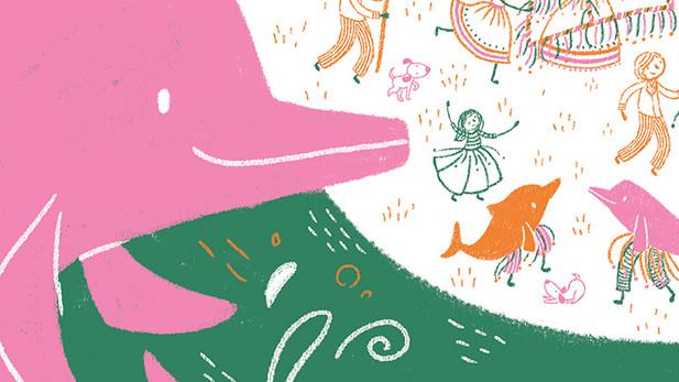 """Livro """"O boto cor-de-rosa que não é mais rosa"""""""