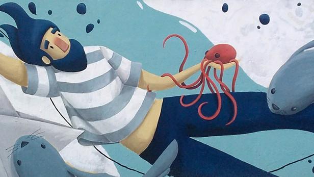 marinheiro, quem te ensinou a nadar?